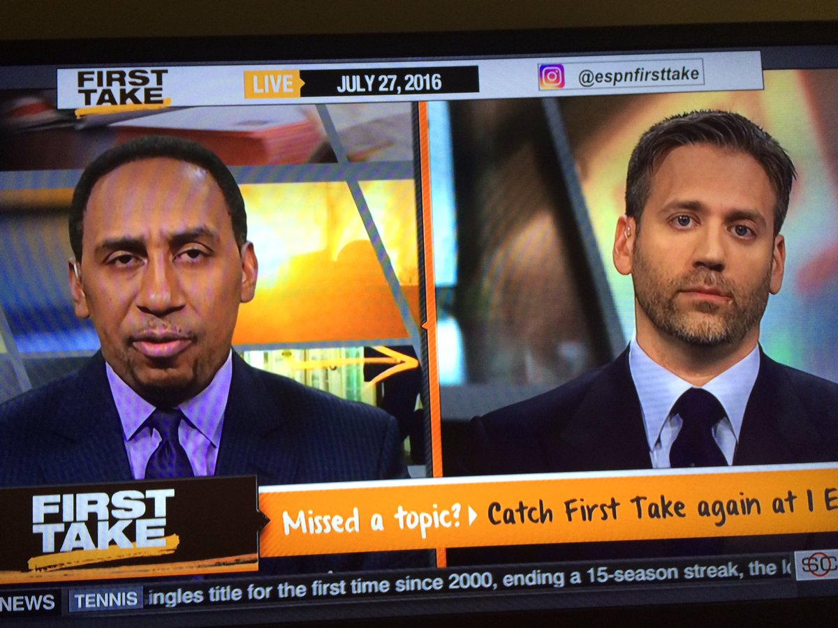 When the white guy speaks better on minority issues than the black guy. #FirstTake https://t.co/Jy8A7MDKCv