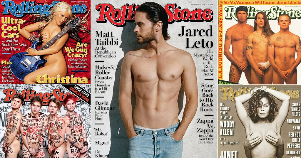 Jared leto is not the first to get naked on our cover. see the full gallery  - scoopnest.com