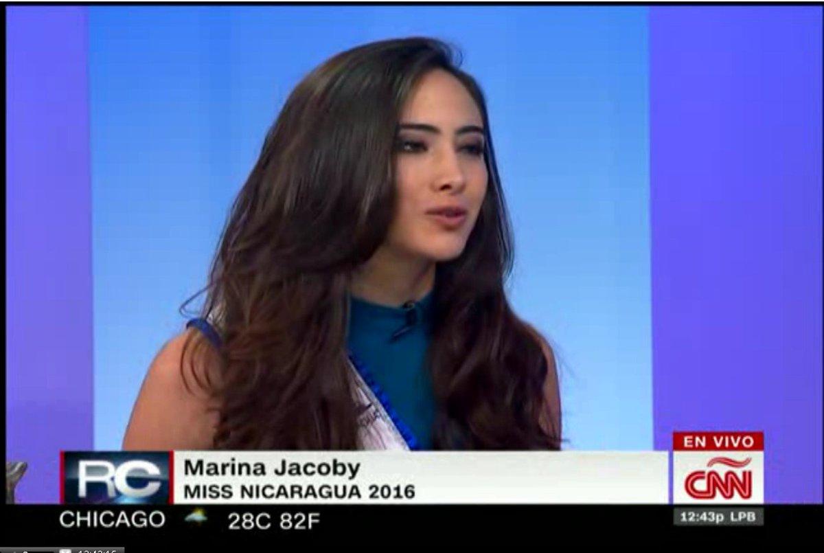 Marina Jacoby Wins Miss Nicaragua 2016: Miss Nicaragua (@MissNicaraguaof)