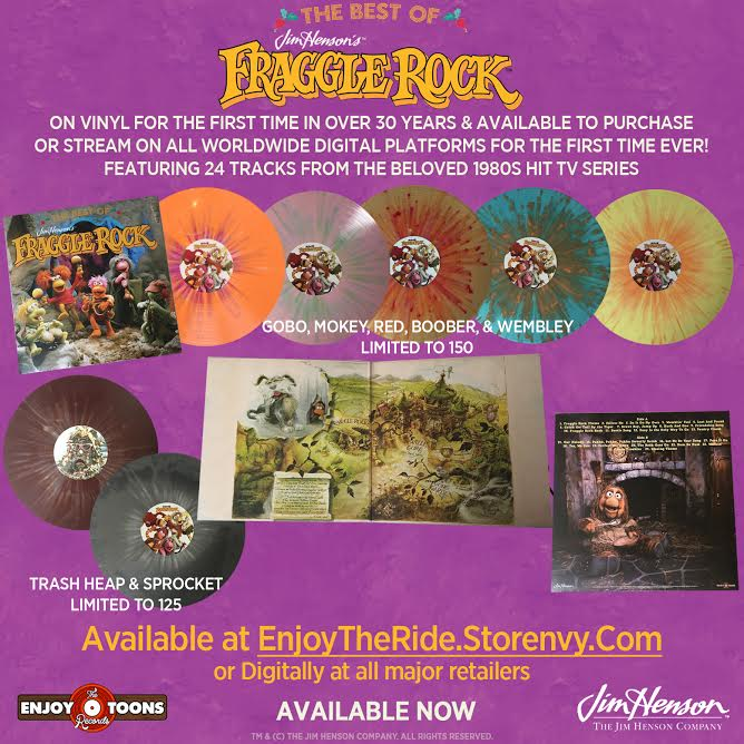 Want to win a copy of our @FraggleRock LP? Follow us + repost to enter! #FraggleRock #EnjoyTheToons #Vinyl #Music https://t.co/g7cWBIEZwC
