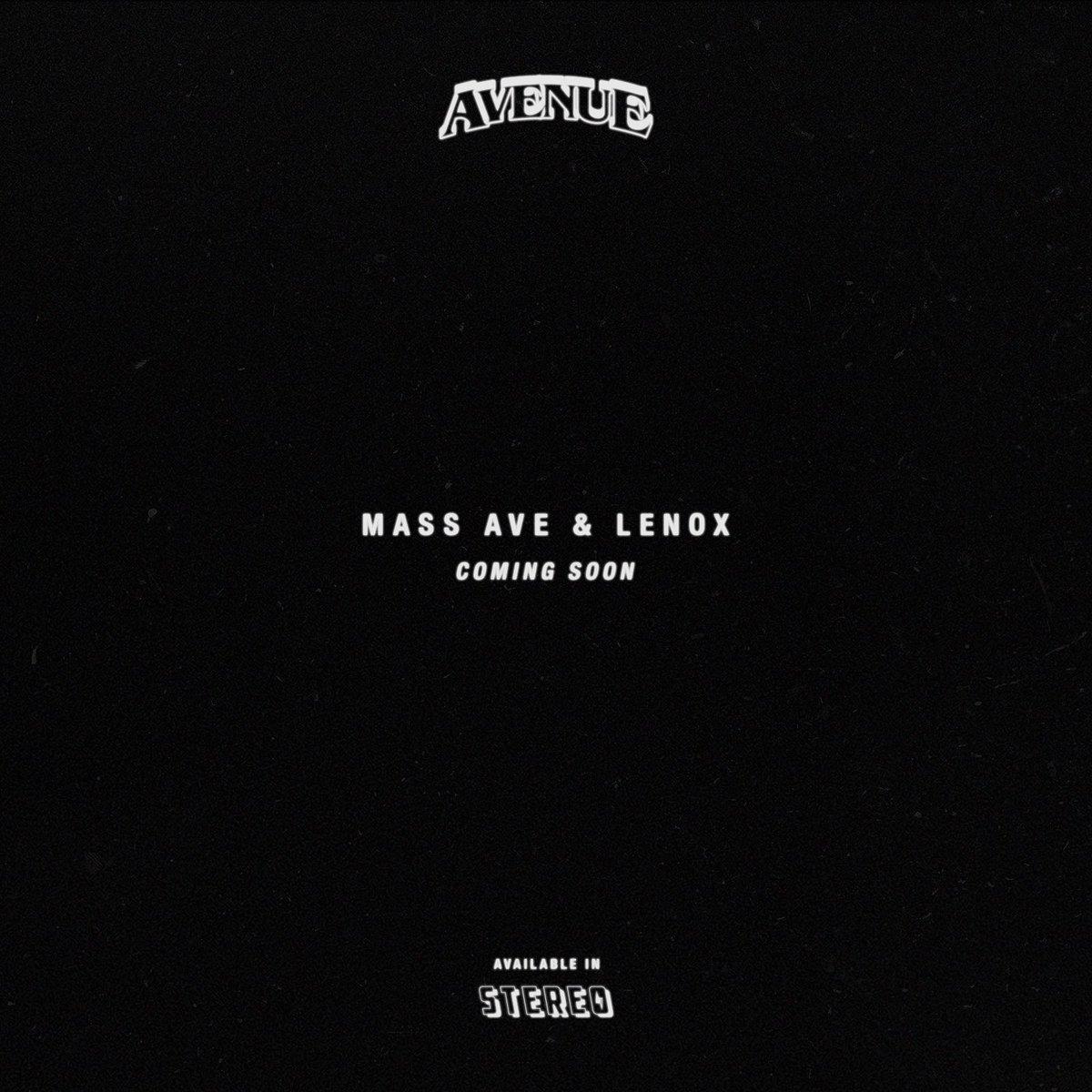 MASS AVE & LENOX (THE ALBUM)   #AVEMAAL https://t.co/wcihSeLRgz