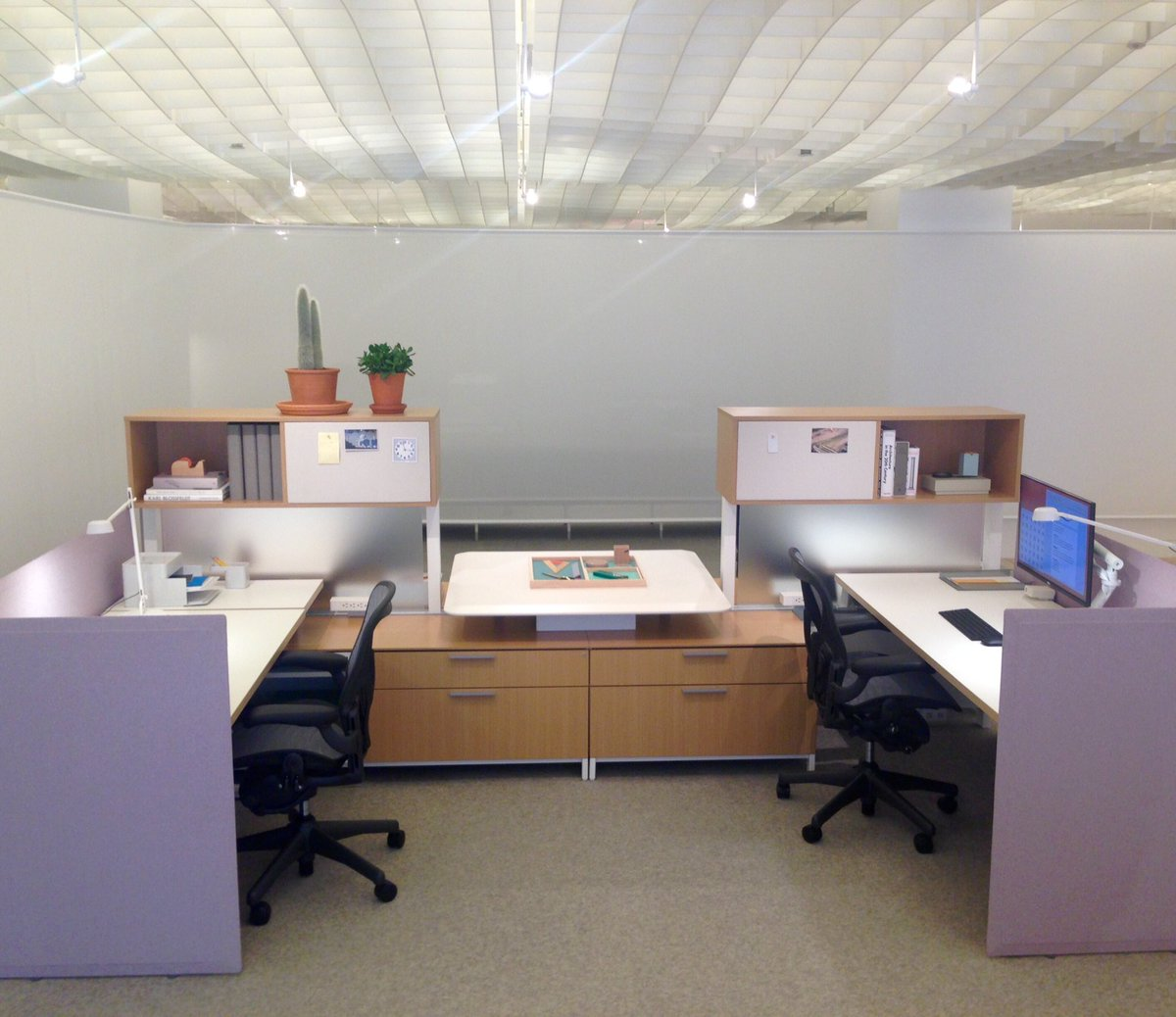 Herman miller canvas office landscapes youtube -  Collaborative Cubicles Hermanmiller Canvas Office Landscape Livingoffice Asdgxchicago2016 Chicago Asdgpic Twitter Com Mksx6o2un8