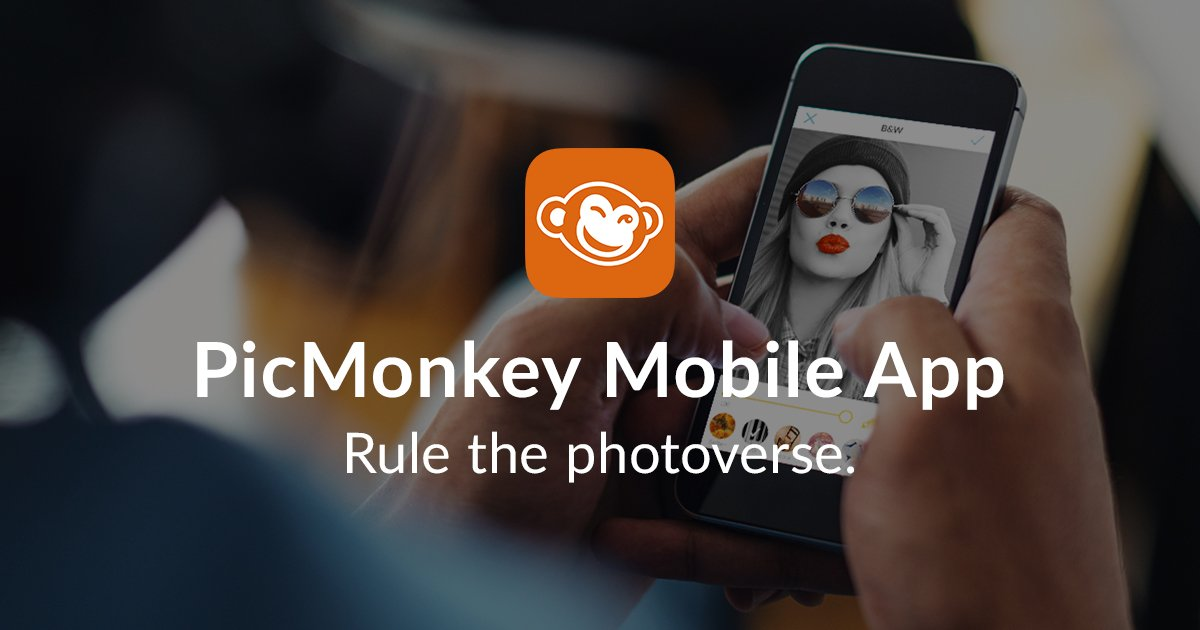 Friends, your PicMonkey mobile app is here!!! Available on iOS and Android. Download it now: https://t.co/ikz5lCndbN https://t.co/LVRdfRJA5H