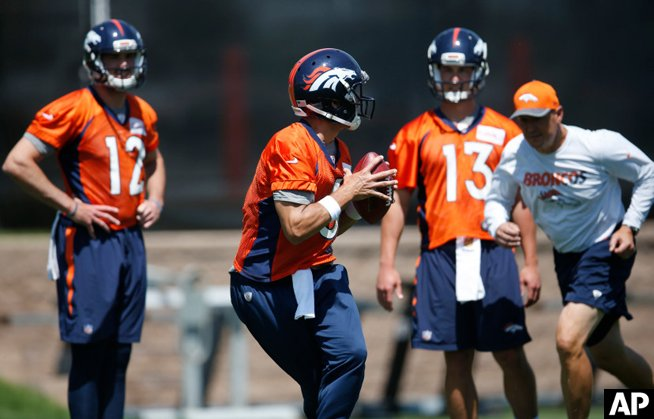 "John Elway: Broncos quarterback competition is ""wide open"""