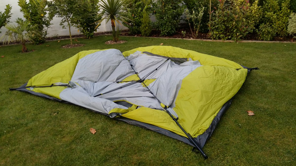 Andy H on Twitter  Brilliant 6 man pop-up tent. Unfold u0026 extend 4 telescopic poles and push up the middle. 9.57 seconds -)u2026   & Andy H on Twitter: