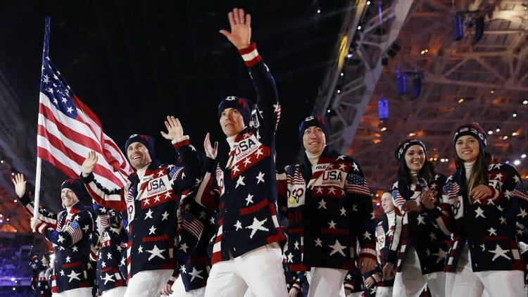 Not even NBC can change the order of the Parade of Nations at the Olympics.
