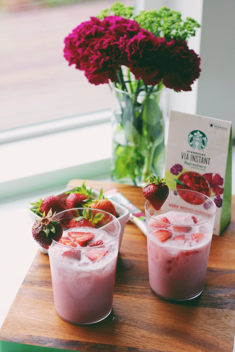 Starbucks Coffee On Twitter Coconut Milk Viainstant Very Berry