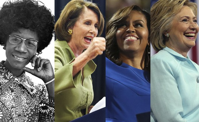 Hillary made history — here others who helped break the political glass ceiling DNCinPHL