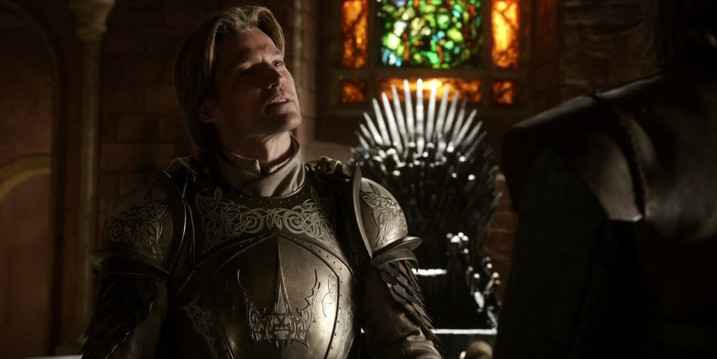 "Jaime can't resist the opportunity to be an asshole. He cracks a joke: ""The king shits and the hand wipes his ass."" https://t.co/HL6GNCExIE"