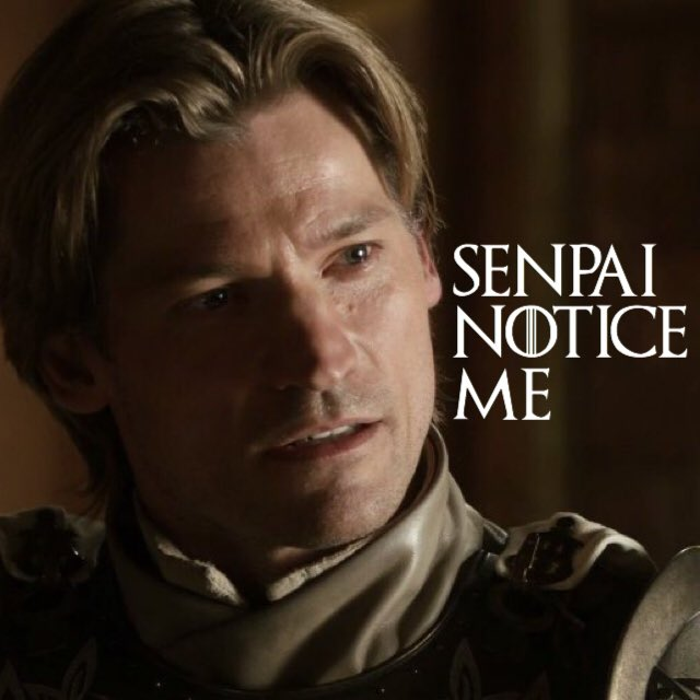 Jaime Lannister in a nutshell. https://t.co/FIDJ317M0V