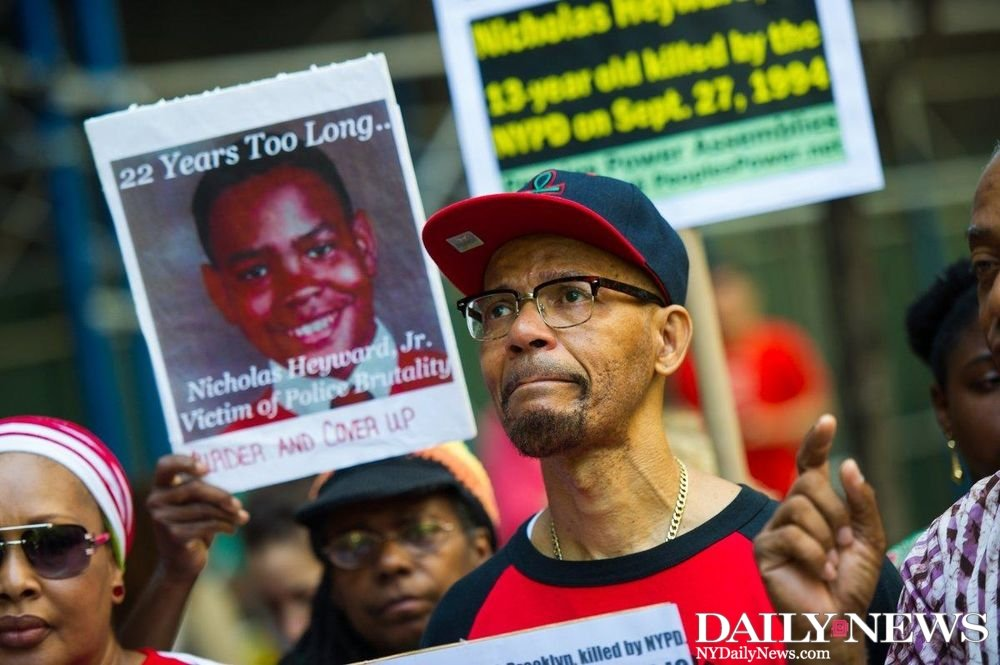 BLACK LIVES STILL MATTER: Family of boy killed in 1994 by NYPD cop rallies for justice