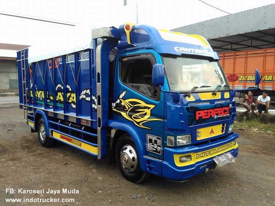 "Truck Mania On Twitter: ""Modifikasi Truk Canter Bayu Jaya"