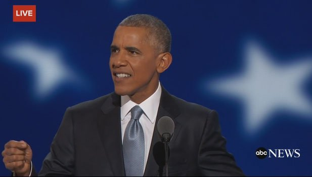 "Obama:""The Donald is not really a plans guy. He's not really a facts guy either."" DNCinPHL"