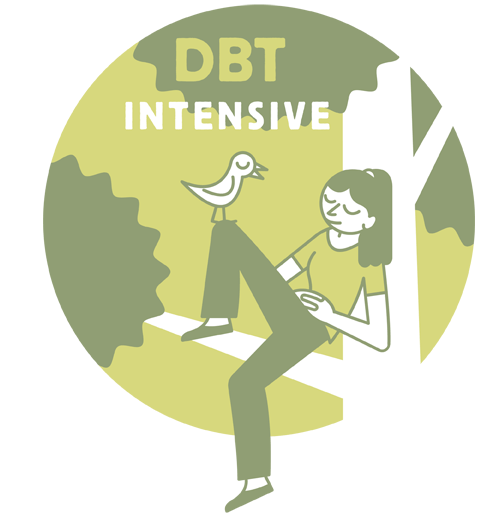 "WOW! It's the awesome ""intensively-trained"" DBT team @PotomacPathways: Sara, Sami, Marian, Hope, Ariana, and Laura!"