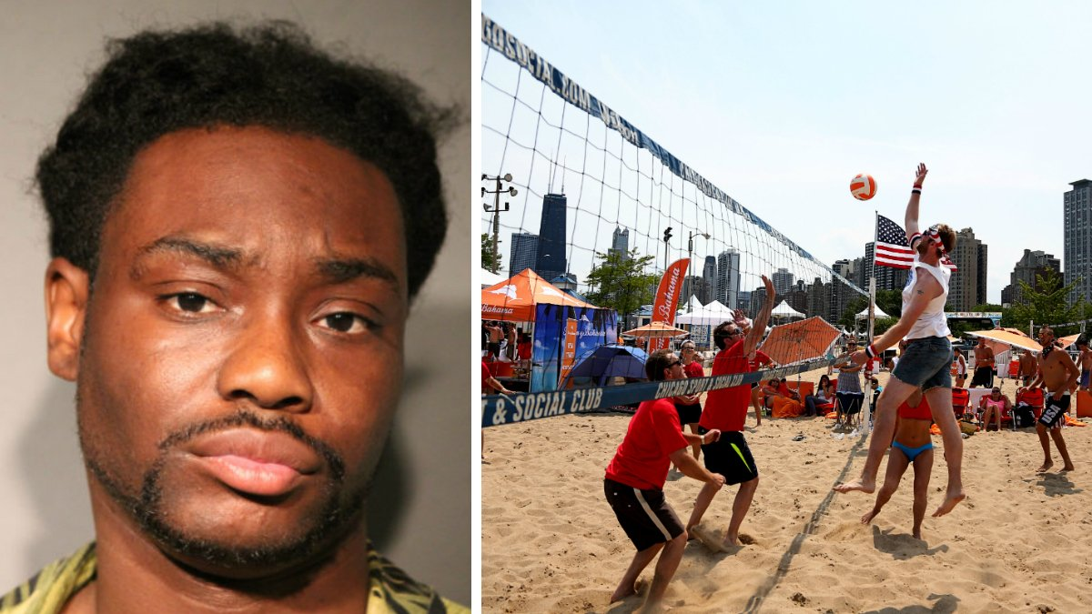 Volleyball player stabbed repeatedly while leaving North Avenue Beach