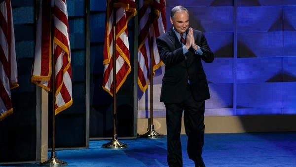Opinion: Tim Kaine is no attack dog. But he did well enough to tear a strip off of Trump.