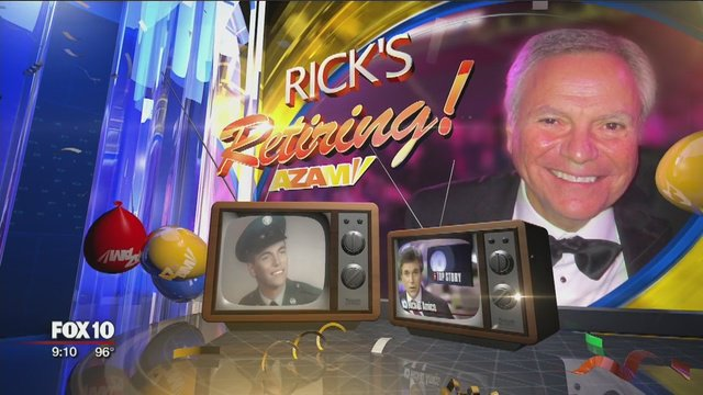 Countdown to Rick D'Amico's retirement from FOX 10