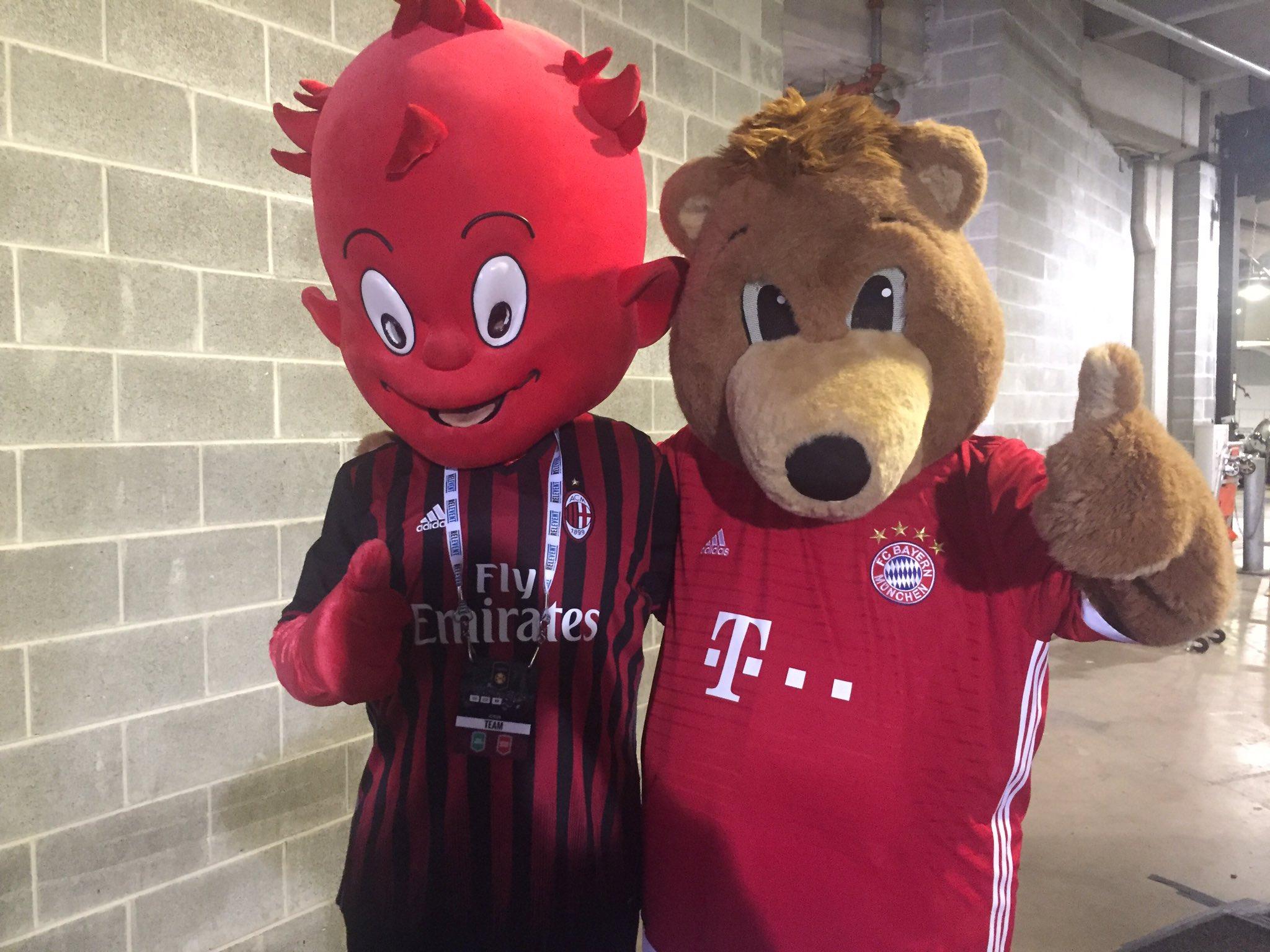 Amical la ICC: Bayern Munchen vs AC Milan - Formatiile oficiale