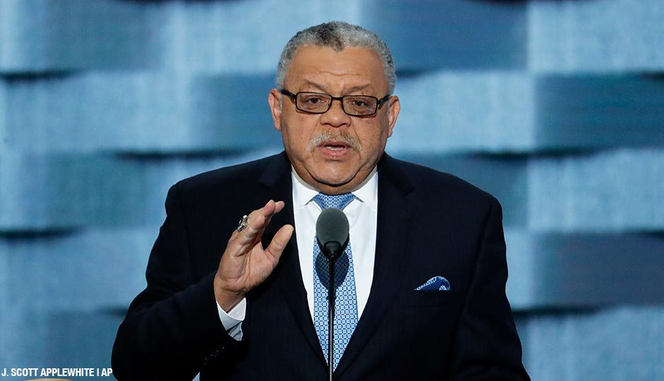Ramsey at DNC: Clinton Will Build Bridges Between Cops, Communities.
