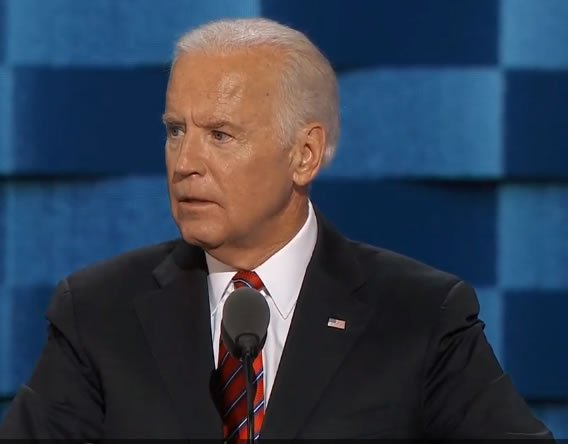 "Joe Biden: ""It's never been a good bet to bet against America."""