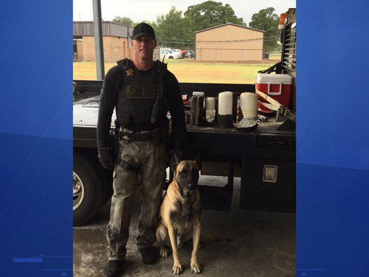 Busted! Deputies find 30 pounds of meth in fire extinguishers Texas
