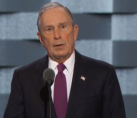 Bloomberg at DNC: