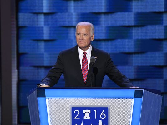 Biden goes after Trump at DemsInPhilly: