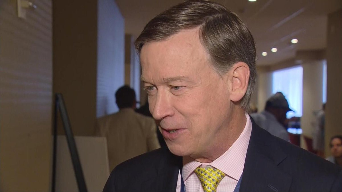 Gov. Hickenlooper Would Have Accepted Offer To Be Clinton's Running Mate
