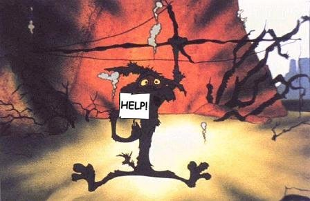 @RexHuppke @Marmel I picture Trump tonight looking like Wile E. Coyote after being struck by lightning https://t.co/vnMjfh2occ