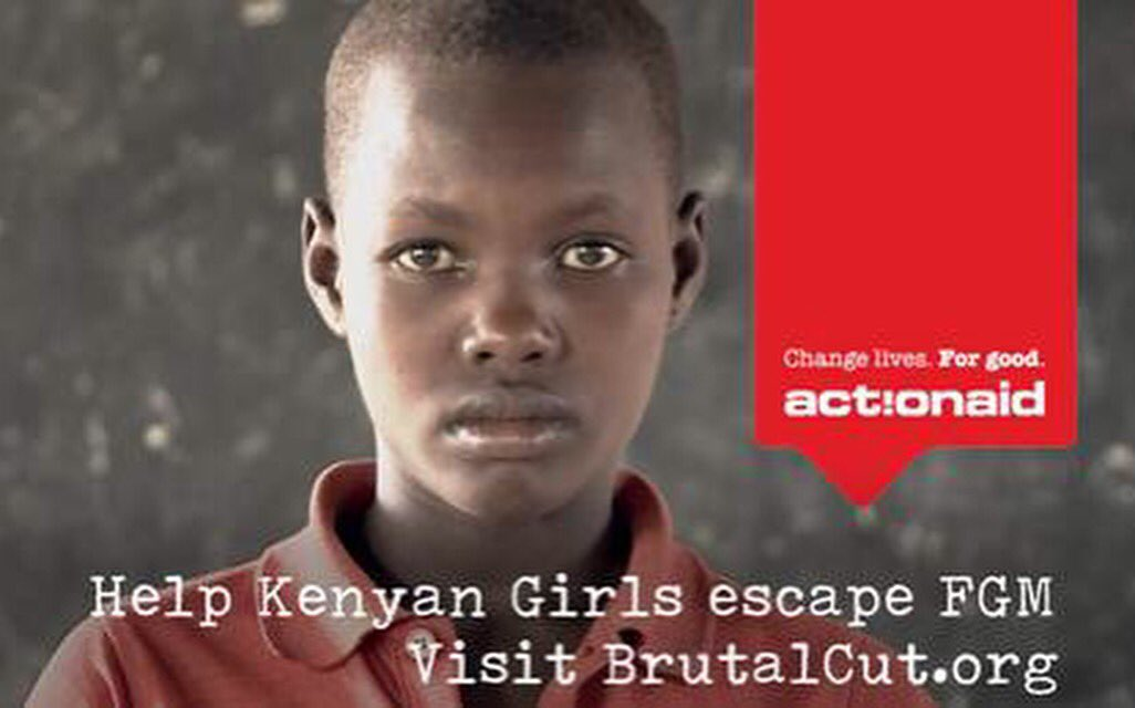I'm supporting @ActionAidUK's #BrutalCut campaign to help #endFGM.Find out how you can help: https://t.co/sJXof2azRc https://t.co/nkGCBpaj6e