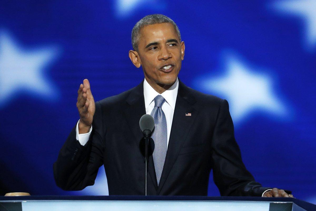 Obama boosts Clinton; Kaine mocks Trump