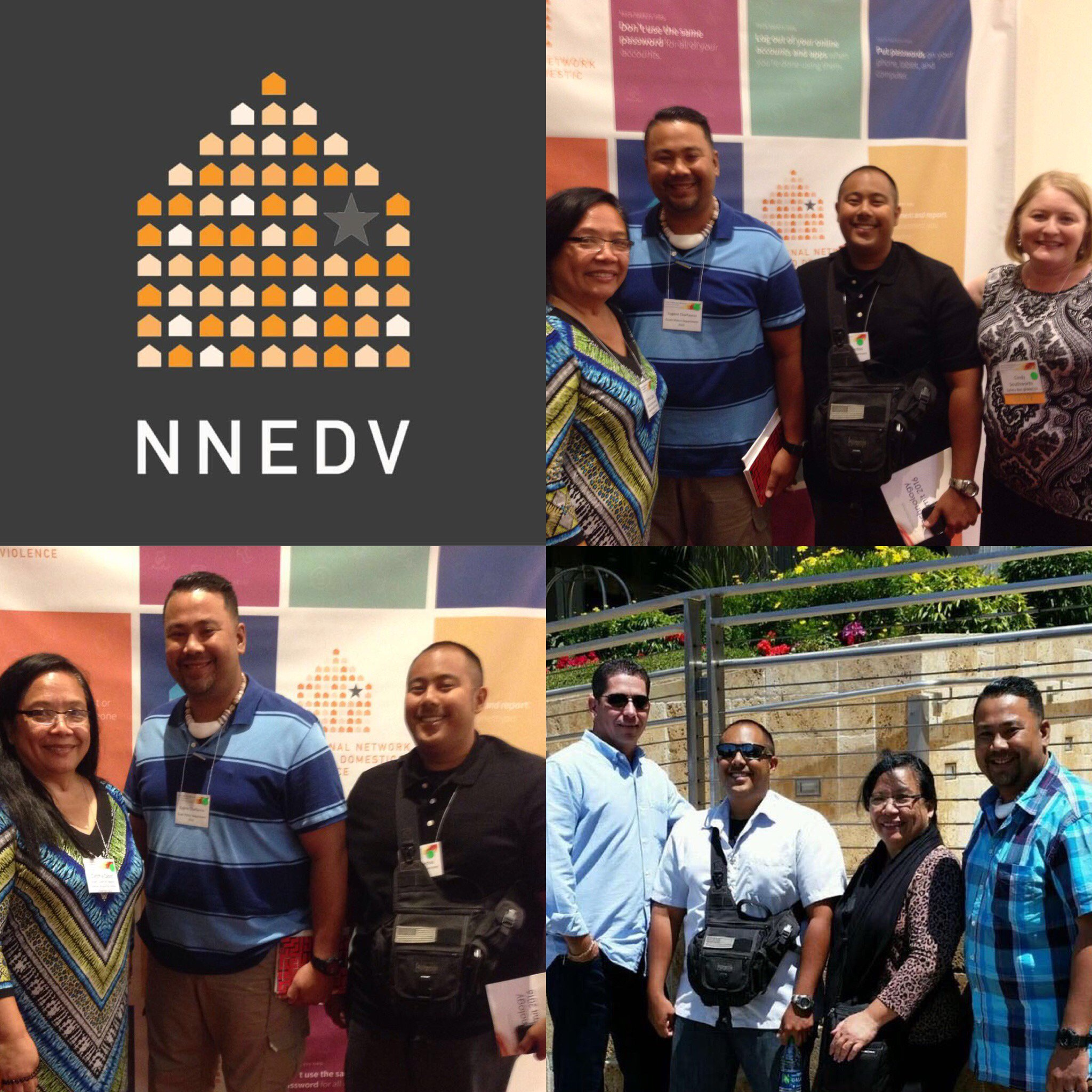 The Guam team attending @nnedv Safety Net's 4th Annual Technology Summit. #techsummit16 #techsafety https://t.co/YAMkwKcI3S