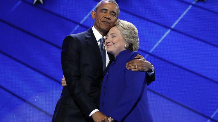 Obama makes forceful case for Clinton: