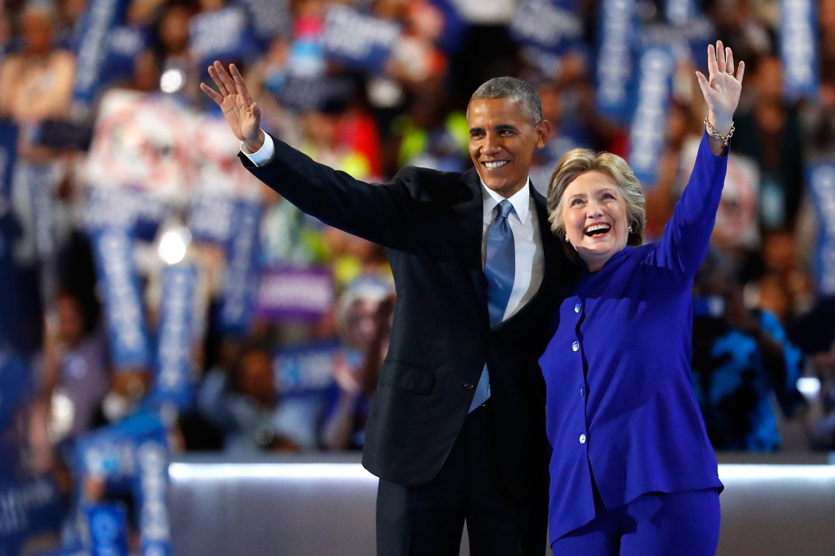 Democratic National Convention: 'Choice isn't even close,' Obama says ... DemsInPhilly