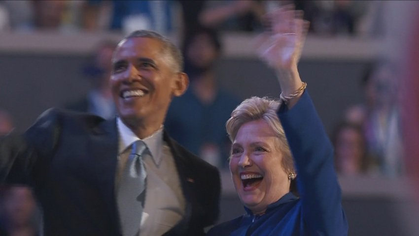 Pres. Obama: There has never been a man or a woman more qualified than Hillary Clinton...>>