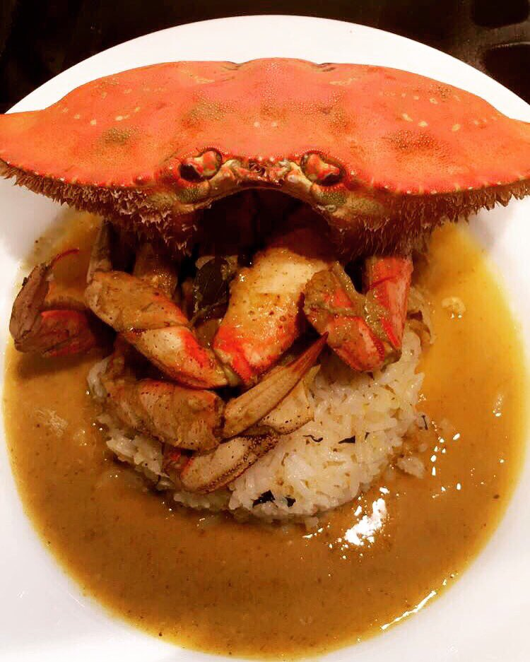 Thai crab curry (homemade curry) with Malaysian rice #cookingwithsess https://t.co/azF0zLyeTJ