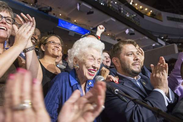 102-year-old born before women had right to vote casts Arizona's ballots for Hillary Clinton