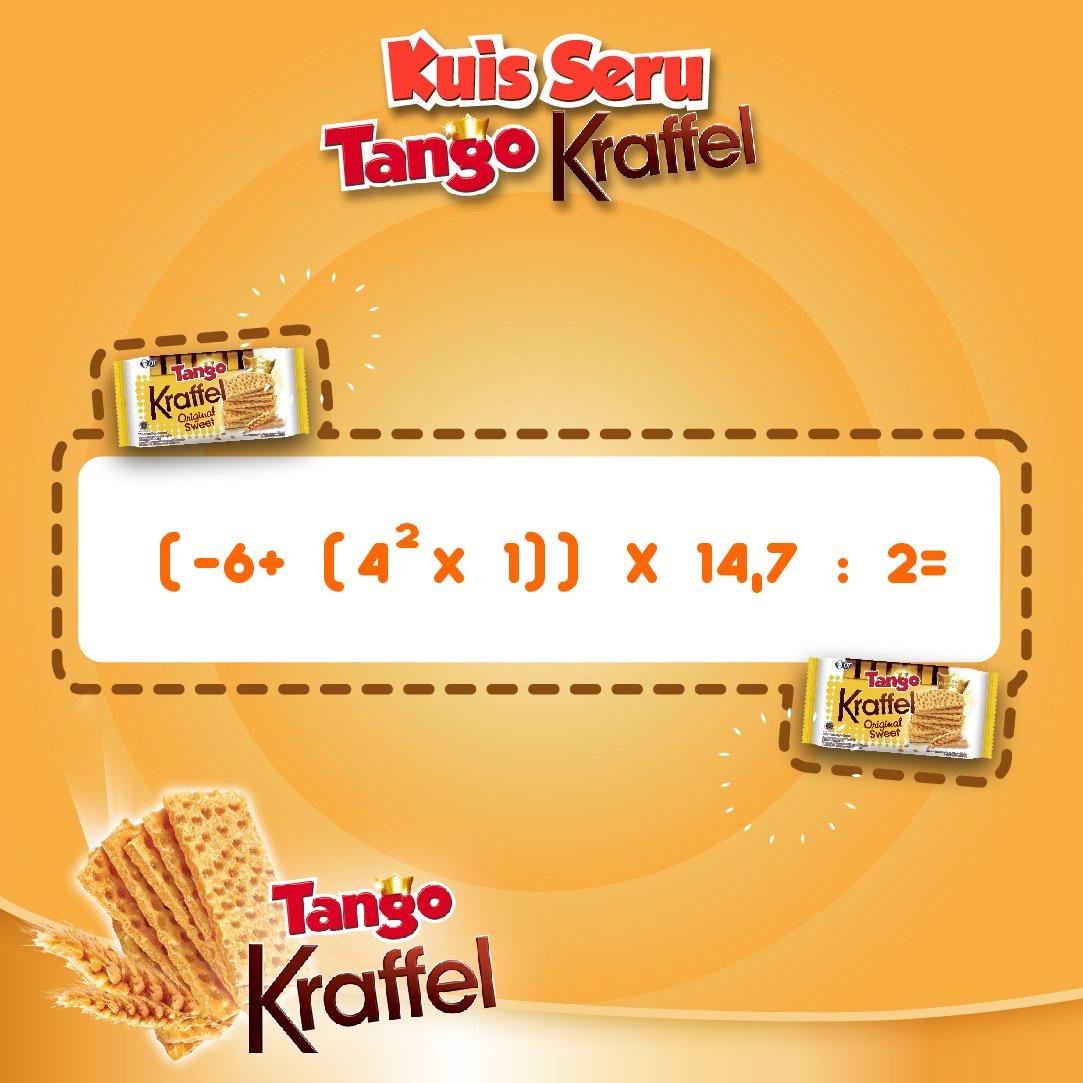 Wafer Tango Renyah On Twitter Kuisserutangokraffel Hitung Tanggo Berapa Jawaban Dari Soal Matematika Ini Serbakuis Infokuis 1 3