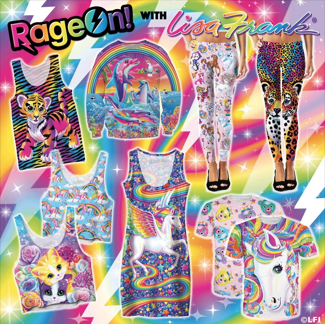 Child of the 90s? LisaFrank launches new clothing line, adult coloring book