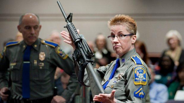 Rifle maker wants documents sealed in Sandy Hook shooting lawsuit