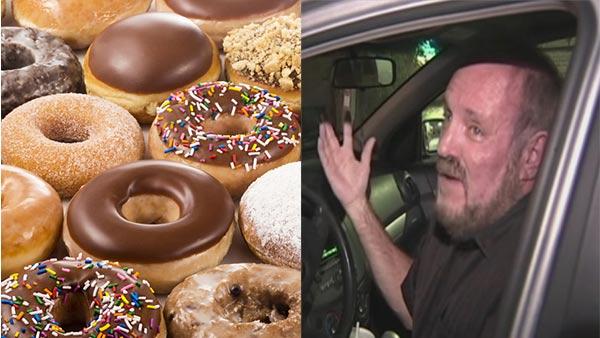 Man arrested after police mistake doughnut glaze for meth