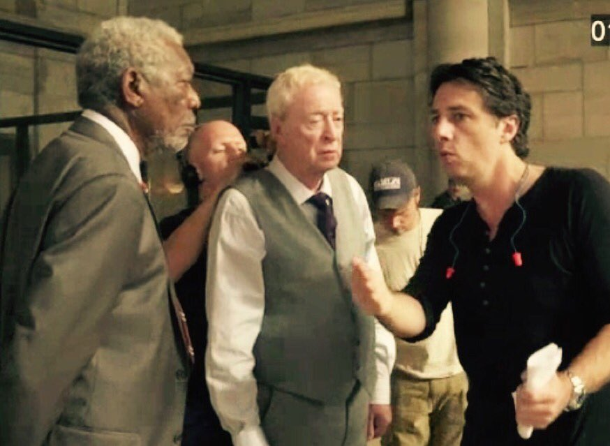 "Wallpaper Going In Style Morgan Freeman Alan Arkin: Zach Braff On Twitter: "".@annietressler1 ""Going In Style"