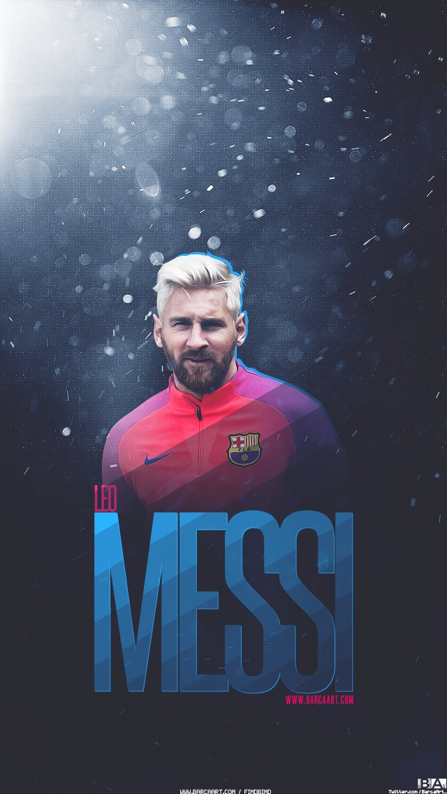 Mesqueunclub Lionel Messi New Hair Wallpaper