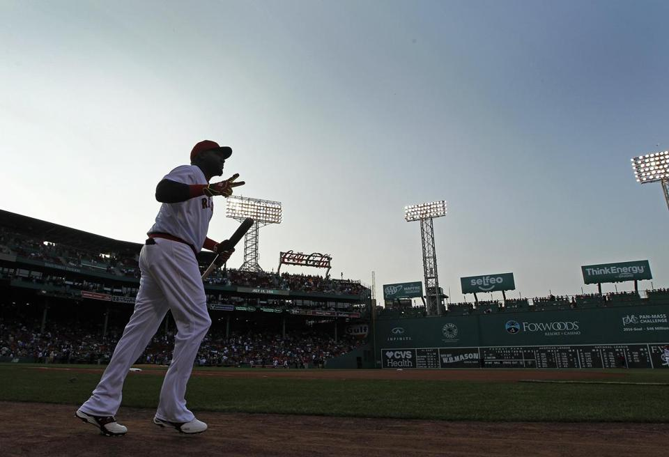 What David Ortiz's last season with the RedSox tells us about how he'll be remembered
