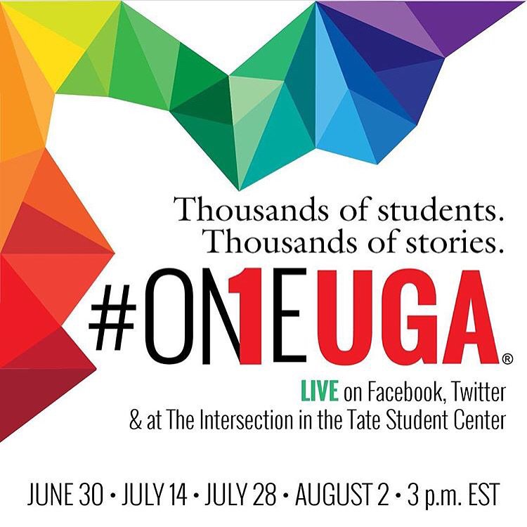 2 hours until #OneUGA!!! https://t.co/zvgjr9oc9N