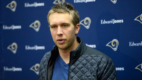Los Angeles Rams release fmr. Eagles QB Nick Foles at his request