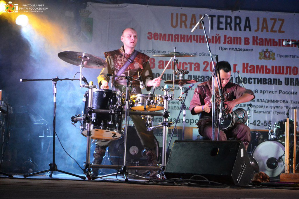 фестиваль джаз в камышлове #1
