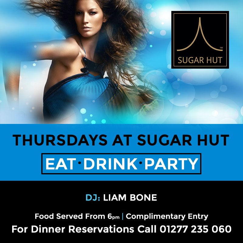 TONIGHT with @LiamBone1 🎧 Eat 🍽 · Drink🍹 · Party💃 #brentwood https://t.co/8pyevewe18