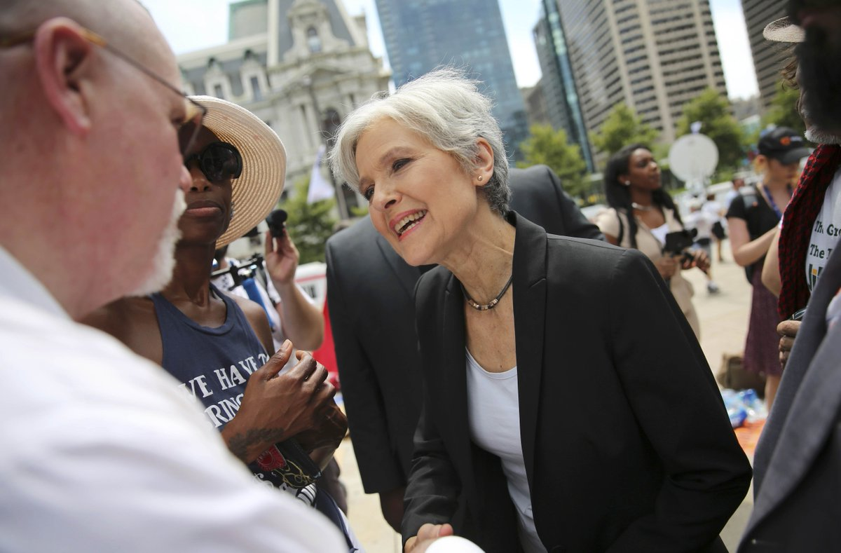@GlobeAbraham: Jill Stein is encouraging voters to let the perfect be the enemy of the sane