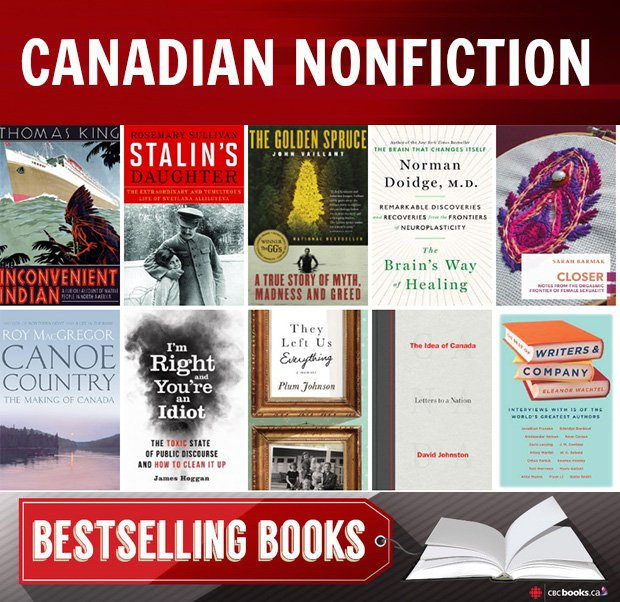 Cbc Books On Twitter The Most Popular Nonfiction In Canada Https